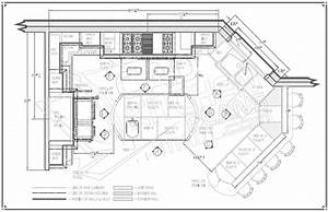 Restaurant Kitchen Floor Plans Layouts