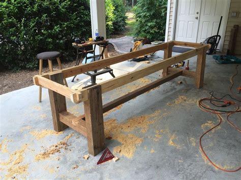 foot farm table  reclaimed barn wood tables