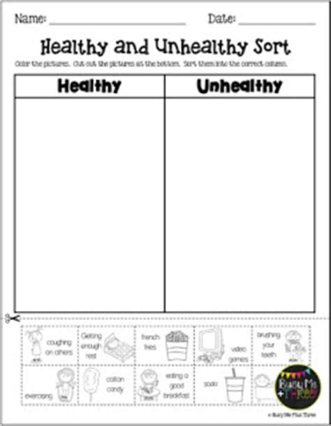 busy me plus three healthy habits stations
