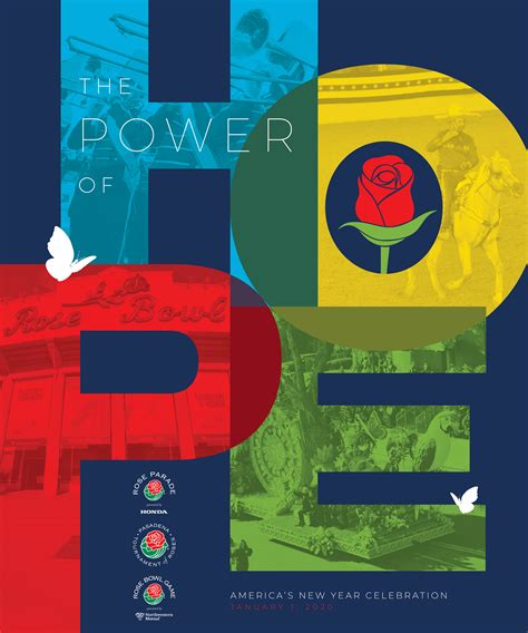 rose parade theme president announced power hope