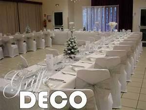 Deco Mariage Rouge Et Blanc Pas Cher : deco mariage blanc et argent le mariage ~ Dallasstarsshop.com Idées de Décoration