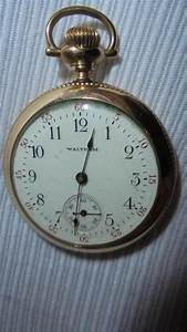 C1900 Antique Lady Waltham Pocket Watch Fahy Case Engraved