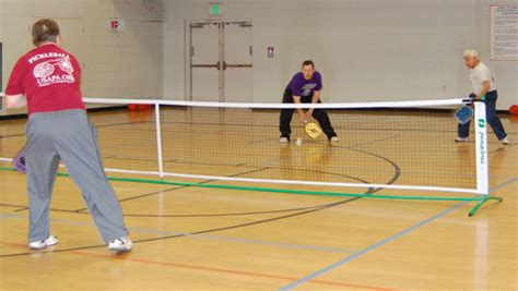 Pickle Playing Pickleball