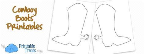 Cowboy Boots Printable Coloring Page