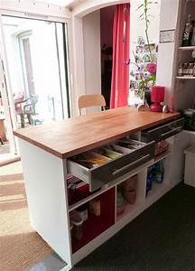 Meuble Plan De Travail : fanny le gall d coration plan de travail bar et biblioth que un meuble de cuisine ~ Teatrodelosmanantiales.com Idées de Décoration