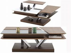 Table Basse Multifonction : 40 meubles modulables pour optimiser l 39 espace elle ~ Premium-room.com Idées de Décoration