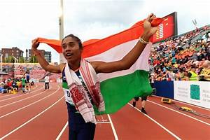 Hima Das thanks fans for support after historic 400m gold ...