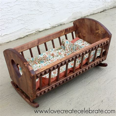 images  woodworking doll cradle  pinterest