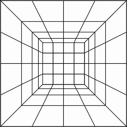 Grid 4x4 Perspective Clipart Svg Domain