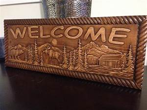 CABIN SIGNS - AJ Wood Products, Custom Carved Signs & More