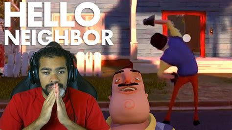 THIS F#%KER IS TAUNTING ME!! | Hello Neighbor [Alpha 2 New ...