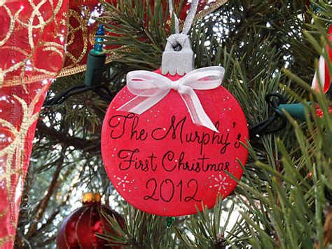 personalized christmas ornament crafts by amanda