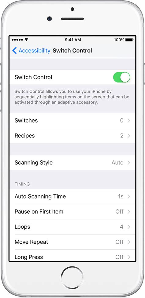 how to switch service to new iphone use switch to navigate your iphone or ipod