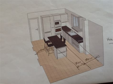 implantation cuisine ouverte implantation cuisine ouverte idées décoration intérieure