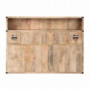 Lit 140 Avec Rangement : tete lit avec rangement 140 ~ Teatrodelosmanantiales.com Idées de Décoration