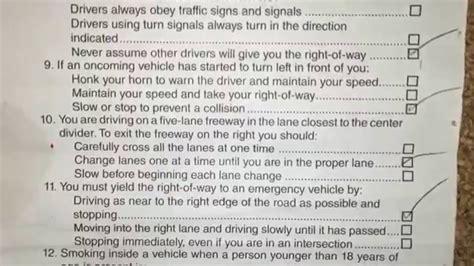 Dmv California Farsi Driving Test
