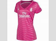 Adidas Women's Real Madrid Pink Away Jersey Football