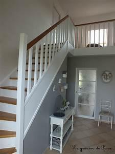 best idee peinture cage escalier photos design trends With peinture couleur bois de rose 2 deco moderne de cage descalier avec peinture rose