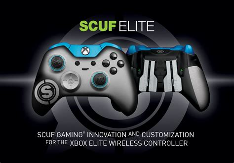 scuf xbox controller elite gaming gamepad wireless customize accessories customizable offering gets introduces ways geeky gadgets custom innovative last december