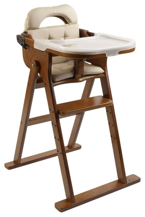 Anka By Svan Convertible High Chair In Honey  All Modern