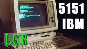Lgr Oddware - Ibm 5151 Monochrome Crt  U0026 Hercules