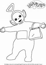 Teletubbies Coloring Pages Teletubby Happy Printable Kleurplaatjes Episodes Getcoloringpages Fun Coloring2print sketch template