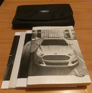 14 2014 Ford Fusion Owners Manual Oem Guide Books Set