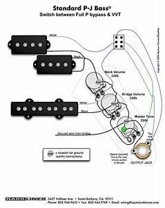 Emg Hz Bass Wiring Diagram
