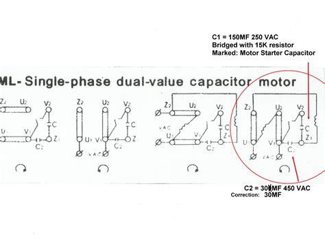 single phase motor wiring diagrams single free engine