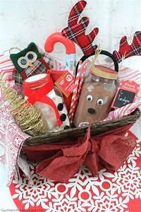 Easy, Holiday, Gift, Idea, Diy, Hot, Cocoa, Gift, Basket
