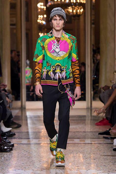 versace fall  menswear collection tom lorenzo
