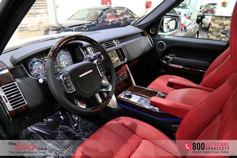 burgundy range rover interior range rover vogue 2014 red interior www imgkid com the