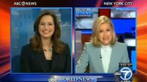 Diane Sawyer Congratulates Abc7's Alison Starling On Her