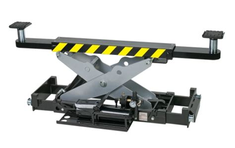 Auto Lift Accessory, Rolling Jack, Air / Hydraulic Operation, Adj. Width, 7500 Lb. Cap. For 4015