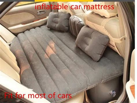 thick pvc car inflatable bed air mattress  seat
