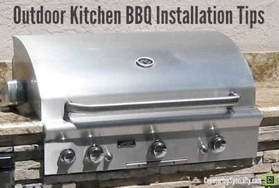 Outdoor Kitchen Design for Barbeque Grill Safety