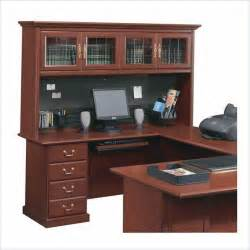 sauder heritage hill executive desk furniture desk design