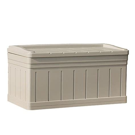best buy large deck box with seat on sale outdoor