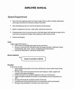 Free 8  Sample Employee Manual Templates In Ms Word