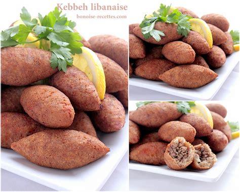 cuisine libanaise recette kibbeh kibbe recette