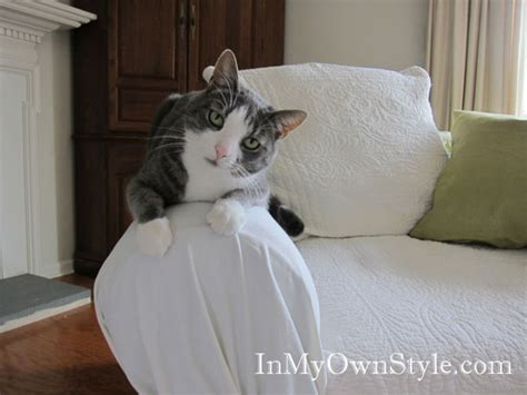 How To Make A Loveseat Slipcover by How To Cover A Chair Or Sofa With A Fit Slipcover