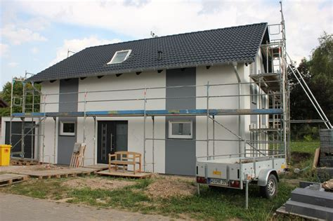 Farbanstrich Der Hausfassade › Wir Bauen Dann Mal Ein Haus