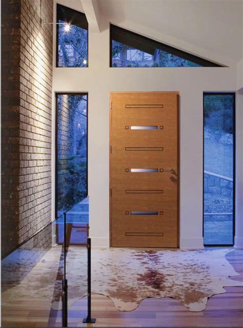 portes dentree aluminium bois