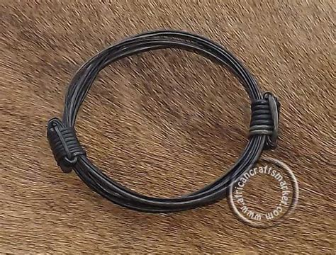 elephant hair jewelry