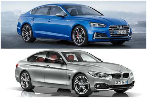 siege bmw serie 1 2017 audi a5 sportback vs bmw 4 series gran coupe photo