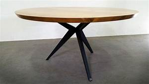 Table Repas PAPILLON RONDE ARTMETA Tables Mtal Et