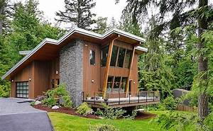 Issaquah House In Squak Mountain With Modern Cottage