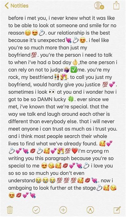 Boyfriend Relationship Paragraphs Texts Quotes Deep Him