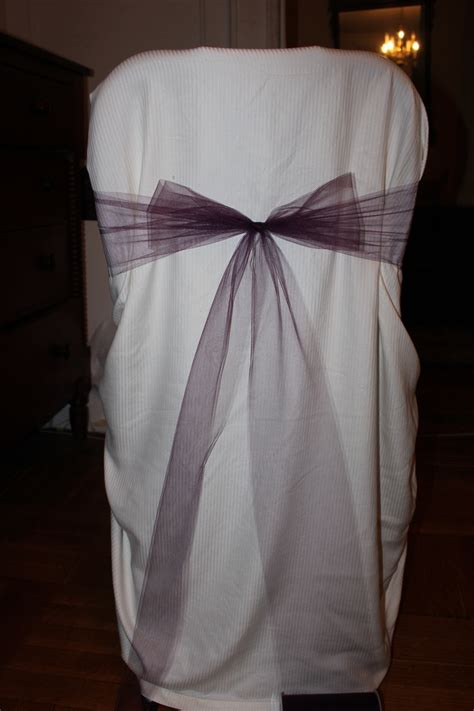 6inch wide tulle for chair sashes wedding reception deco