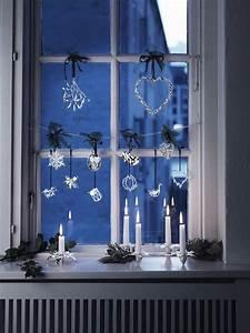 Weihnachtliche Deko Ideen : 1001 ideen f r bezaubernde fensterdeko zu weihnachten ~ Whattoseeinmadrid.com Haus und Dekorationen